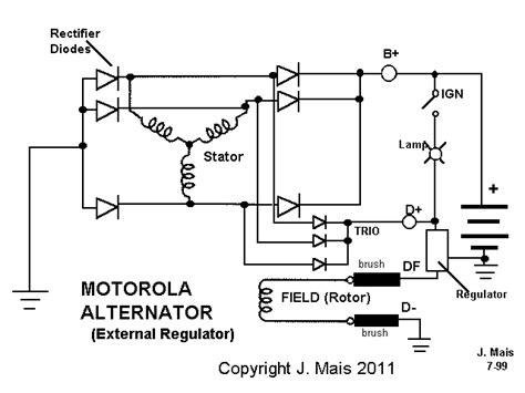 wiring diagram alternator wiring diagram