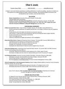 How To Write A Resume Template Free Terminology Resume Exle Resumes Design