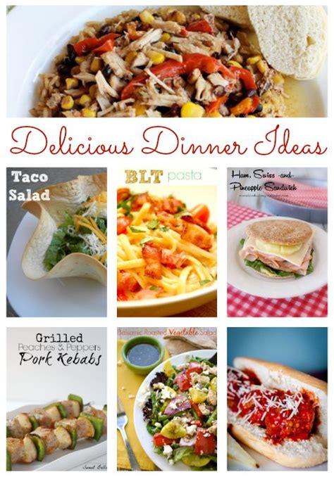 delicious meal ideas delicious dinner ideas