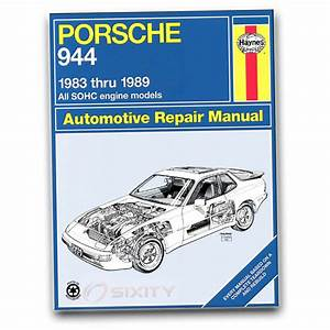 Porsche 944 Haynes Repair Manual S2 Turbo Base Shop