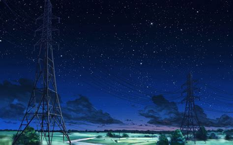 Anime Illustration Wallpaper - aw16 arseniy chebynkin sky blue illustration