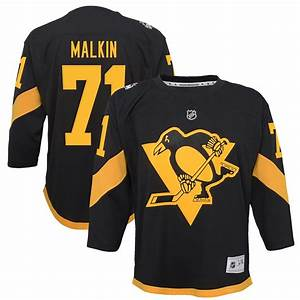 Fanatics Nhl Jersey Size Chart Youth Pittsburgh Penguins Evgeni Malkin Black 2019 Nhl
