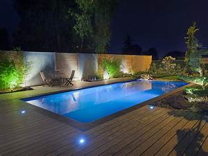 Eclairage Piscine Bois : la piscine paysag e par l 39 esprit piscine 8 x 4 m ~ Edinachiropracticcenter.com Idées de Décoration