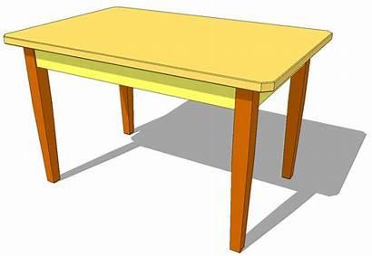 Table Mesa Plans Classroom Amarilla Madera Mesas