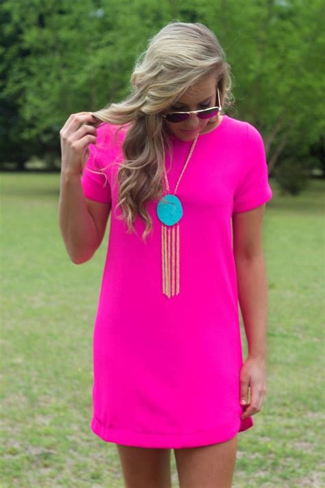 Itu0026#39;s A Date Dress Hot Pink | Hot pink Skin colors and Clothes