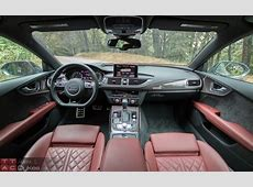 2016 Audi S7 Interior004 The Truth About Cars