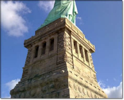 statue of liberty pedestal things to do statue of liberty national monument u s