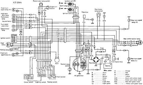 Suzuki Gt500 Wiring Diagram by Suzuki Gt250 Rescue Adventure Rider