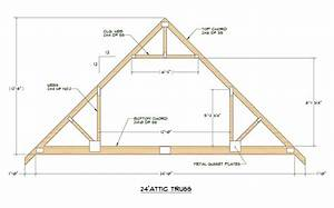 Medeek design inc truss gallery for 40 foot roof truss