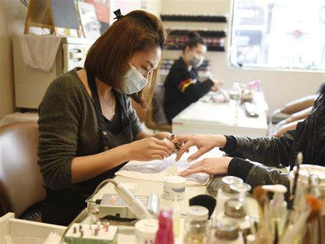 nail salons multiply state struggles  control labor