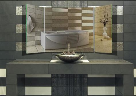 klappspiegel badspiegel quot benito quot klappspiegel badspiegel
