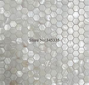 Mosaik Fliesen Perlmutt : 11 st cke wei hexagon shell mosaik fliesen perlmutt k che dusche tapete badezimmer backsplash ~ Eleganceandgraceweddings.com Haus und Dekorationen