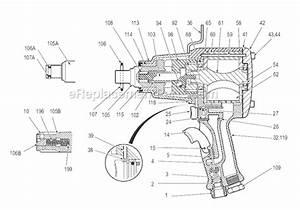 Chicago Pneumatic Cp6060 Sasak Parts List And Diagram