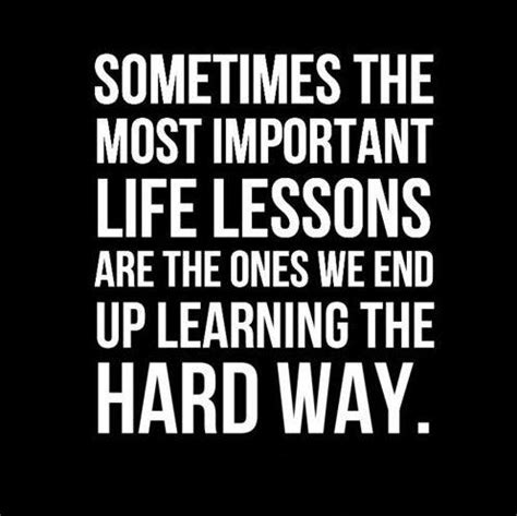 learn my lesson quotes