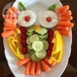 Gemüse Für Kinder : gem seplatte f r den kindergarten als eule recept eten ~ A.2002-acura-tl-radio.info Haus und Dekorationen