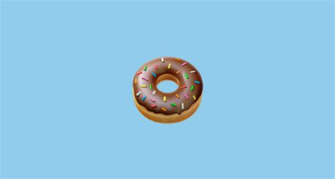 donut emoji