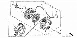 Honda Engines Gx160k1 Hx2  A Engine  Jpn  Vin  Gc02