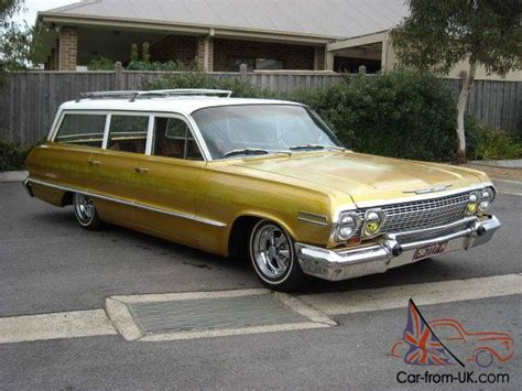 1963 Chevrolet Belair Wagon Impala Custom Hotrod Classic