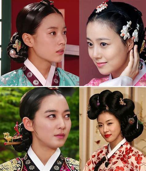 korean hanbok traditional  hairstyles  pinterest