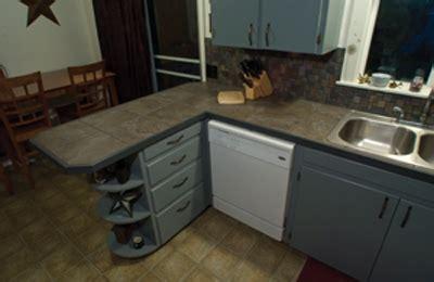 reconfiguring kitchen cabinets  install  dishwasher