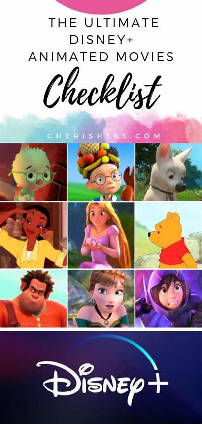 Disney Movies Checklist Animated Plus Ultimate Lot