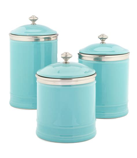 ceramic canisters for the kitchen southern living citrus statements collection ceramic