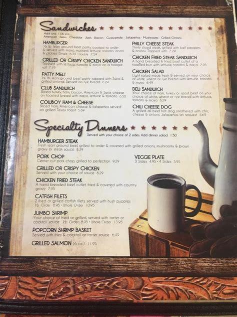 menu  brandis country kitchen bridgeport tx