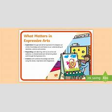 * New * Fp What Matters Expressive Arts Display Poster