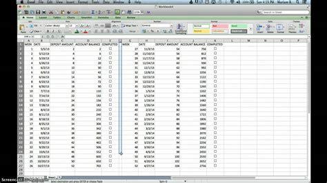 week challenge excel sheet youtube
