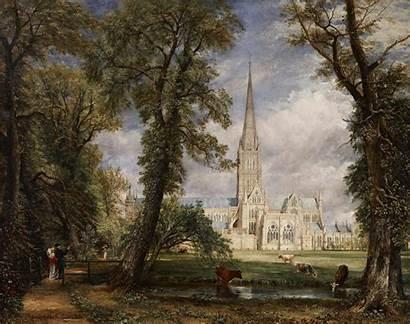 Constable John Painting Oil Traditional Park Salisbury