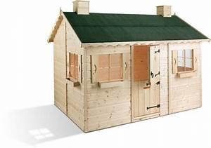 Cabane Bois Pas Cher : cabane bois enfant pas cher trouvez le meilleur prix sur ~ Melissatoandfro.com Idées de Décoration
