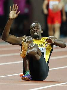 WATCH: Usain Bolt 'collapses' on track as his last race ends in devastation - PrimeNewsGhana