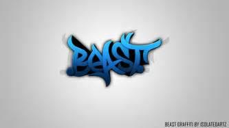 beast graphics graffiti branding by isolatedartz on behance