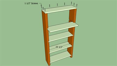 Build Wall Bookcases by How To Build A Bookcase Wall Howtospecialist How To