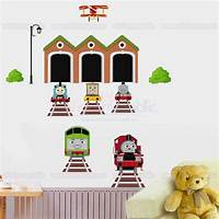 magnificent thomas wall decals Thomas the Tank Engine Wall Decal for Kid's Room Decor