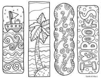 free coloring bookmarks great for classrooms and libraries make reading a more colorful