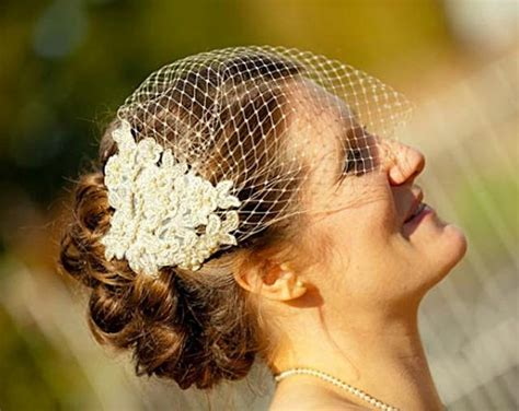 Champagne Birdcage Veil And Lace Bridal Fascinator, Gold, Vintage Style Bandeau Birdcage Wedding Wedding Updos On Short Hair For Medium With Veil Workout Bride And Groom Chapels In Alabama Top Modern Series Bands Kildare Ireland