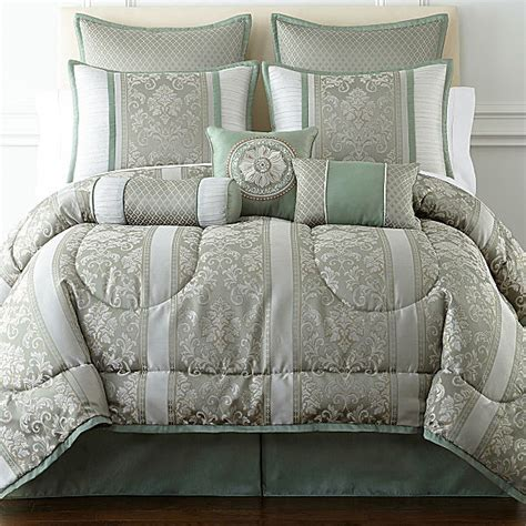 jcpenney home collection comforter jcpenney home expressions chopin 7 pc jacquard comforter