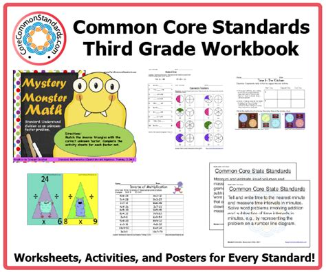 Third Grade Common Core Activities