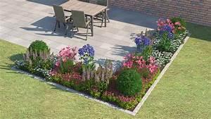 Beet Vor Terrasse Anlegen : pflanzen w hlen beet gestalten obi beetplaner ~ Markanthonyermac.com Haus und Dekorationen