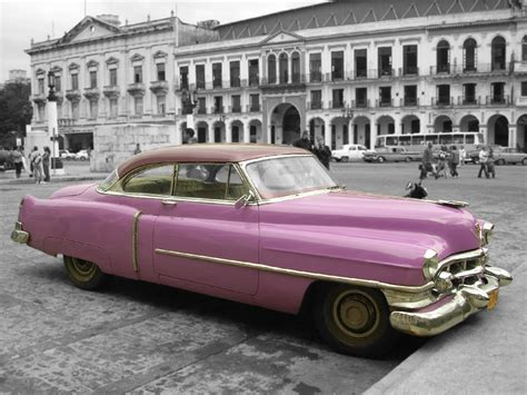 Free Cars Wallpapers Downloads Pink by Car Pink Classic Cuba By Fujur