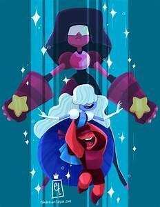 Steven Universe- Garnet, an art print by Edwardian Taylor ...
