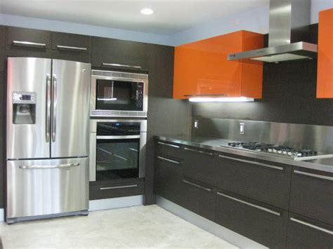 gloss kitchen ideas orange gloss kitchen designs contemporary kitchen