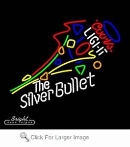 Coors Light Silver Bullet Neon Sign only $299 99 Coors