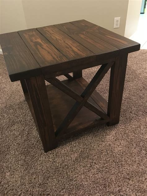 Lighted End Tables Living Room Furniture by Adam Did An Amazing On Our End Table We Bought A