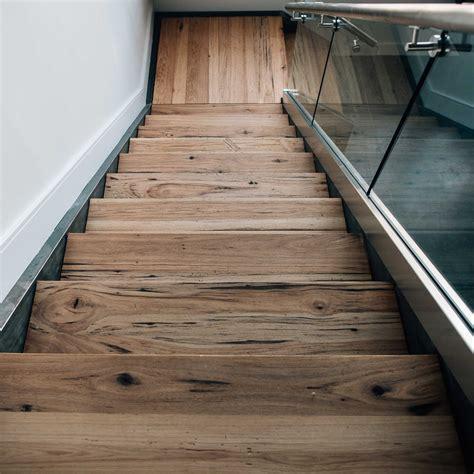 stair treads wood flooring longleaf lumber reclaimed hickory stair treads for custom staircase