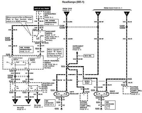 2012 f150 headlight wiring diagram 4runner headlight
