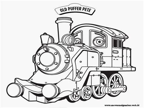 Coloring Kereta Api by Gambar Mewarnai Kereta Chuggington Mewarnai Gambar