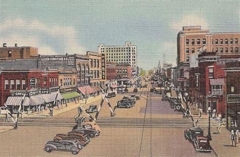 patio world fargo dakota dakota postcard fargo dakota downtown city