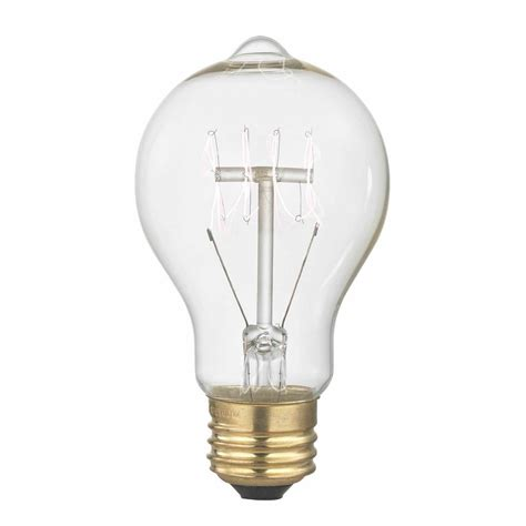 nostalgic vintage edison carbon filament light bulb 40